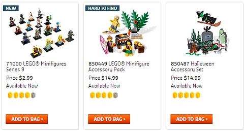 LEGO Minifigures Available Now