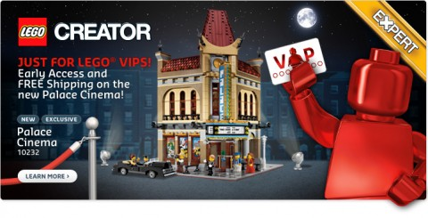 LEGO Modular Palace Cinema Available Now