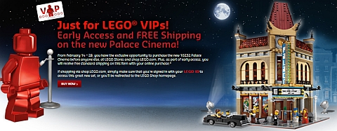 LEGO Modular Palace Cinema for VIPs