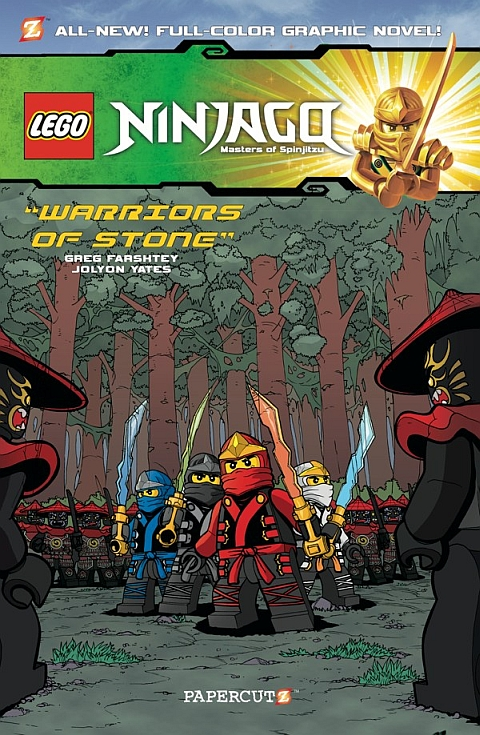 LEGO Ninjago Warriors of Stone