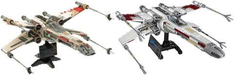 LEGO Star Wars Old and New X-wing Starfighter
