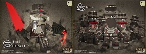 LEGO Steampunk Bad Guys