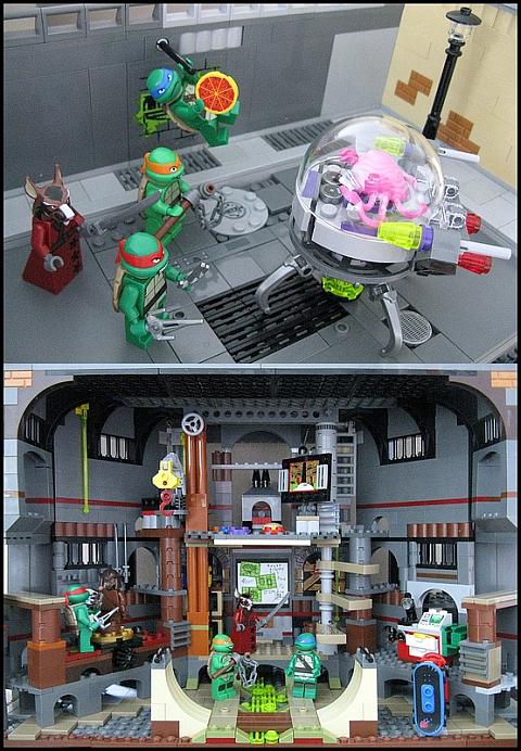 LEGO Teenage Mutant Ninja Turtles Turtle Lair by M.R. Yoder
