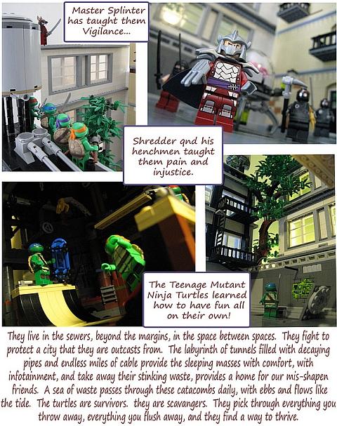 LEGO Teenage Mutant Ninja Turtles by M.R. Yoder