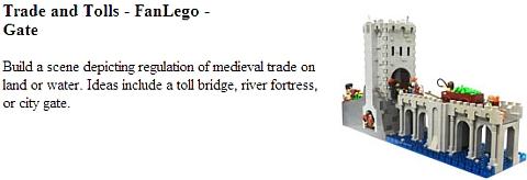 LEGo Castle Contest - Trade & Tolls