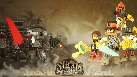 LEGo Steampunk Project Characters