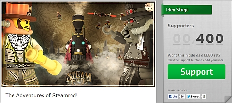 Vote for LEGO CUUSOO Steampunk