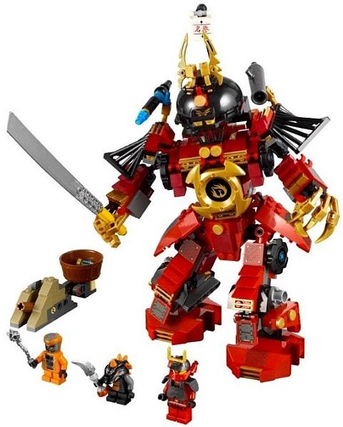 #8448 LEGO Ninjago Samurai Mech Set Details