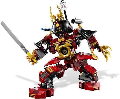 #9448 LEGO Ninjago Samurai Mech Details