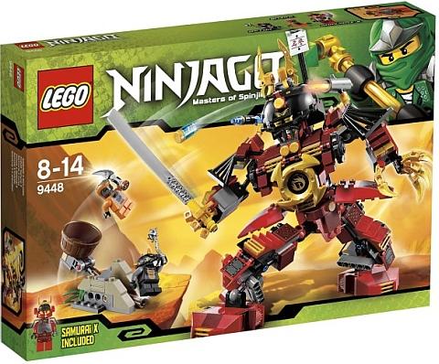 #9448 LEGO Ninjago Samurai Mech