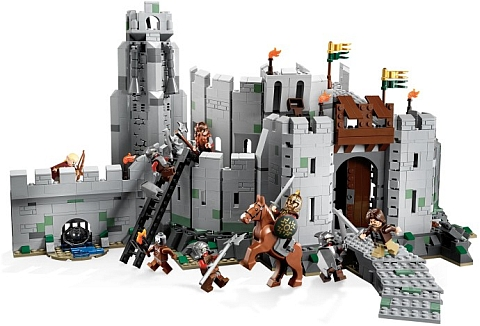 #9474 LEGO Battle Of Helm's Deep Review