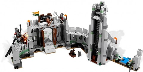 #9474 LEGO Battle of Helm's Deep Inside Review
