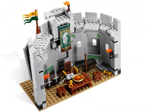 #9474 LEGO Lord of the Rings Helm's Deep Throne Room Review