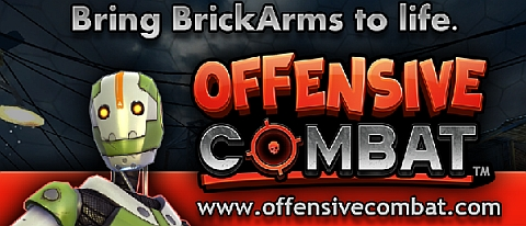 Custom LEGO BrickArms Offensive Combat Series