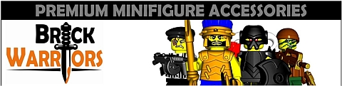 Custom LEGO Minifigure Accessories by BrickWarriors