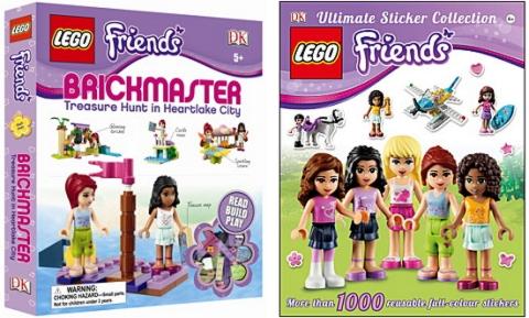 Friends LEGO Books