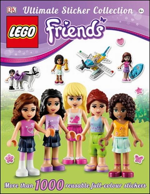 LEGO Friends Sticker Book