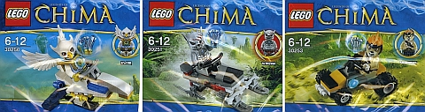 LEGO Legends of Chima Polybags
