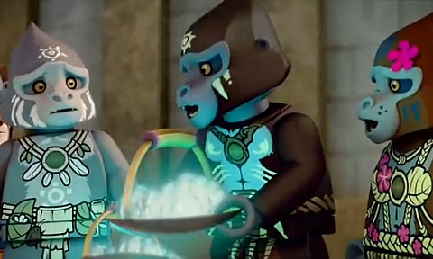 LEGO Legends of Chima on Cartoon Network