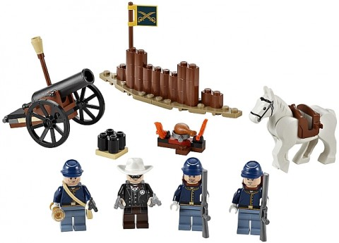 LEGO Lone Ranger Cavalry Builder