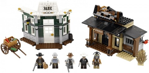 LEGO Lone Ranger Colby City Duel