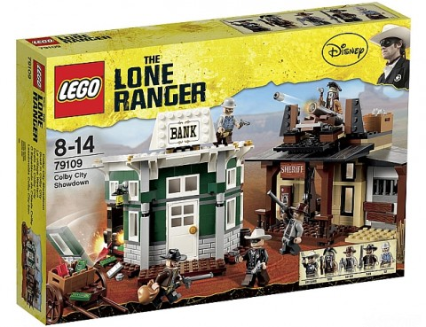 LEGO Lone Ranger Colby City Duel Box