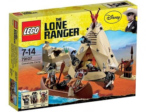 LEGO Lone Ranger Comanche Camp Box