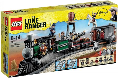 LEGO Lone Ranger Constitution Train Chase Box
