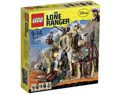 LEGO Lone Ranger Silver Mine Shootout Box