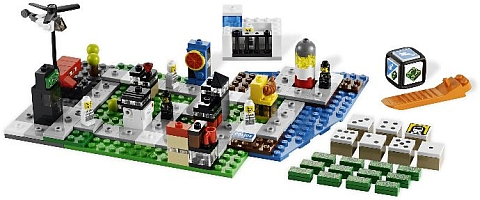 LEGO Micro Building in LEGO Games City Alarm