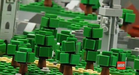 LEGO Micro Trees