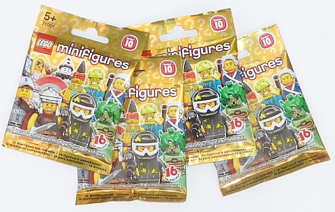 LEGO Minifigures Series 10 Packaging