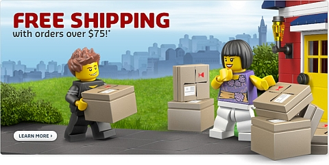 LEGO Shopping Deal - Free Shipping