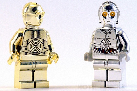 LEGO Star Wars Chrome C-3PO & TC-14