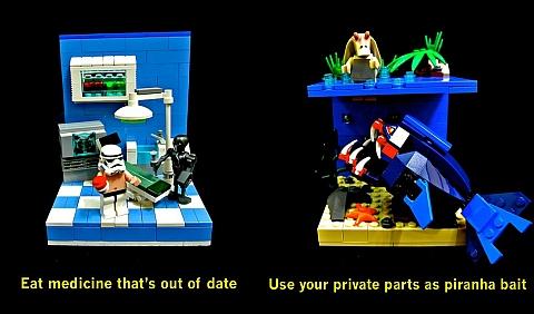 LEGO Star Wars Dumb Ways to Die 2