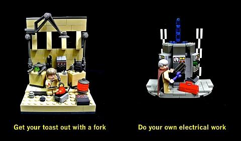 LEGO Star Wars Dumb Ways to Die 4