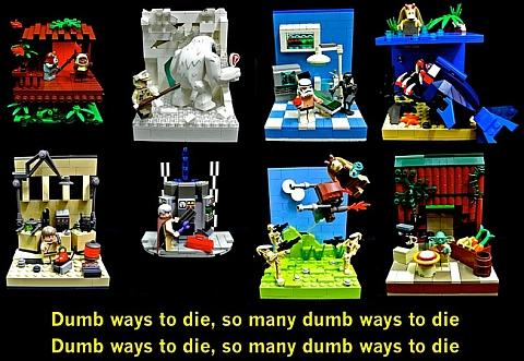 LEGO Star Wars Dump Ways to Die