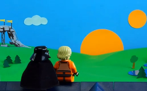 LEGO Star Wars Father's Day Video