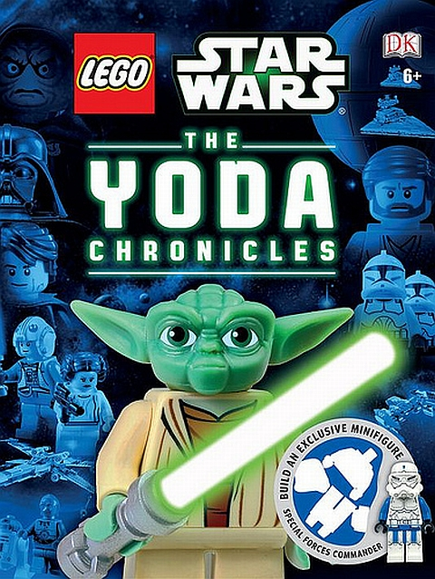 LEGO Star Wars The Yoda Chronicles Book