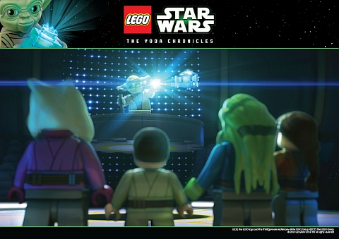 LEGO Star Wars Yoda Chronicles Poster 1