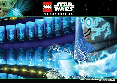 LEGO Star Wars Yoda Chronicles Poster 2