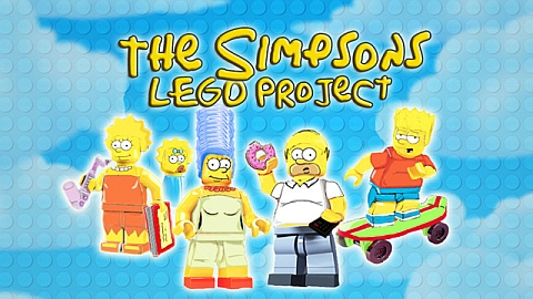 LEGO The Simpsons Concept by B.Parsons