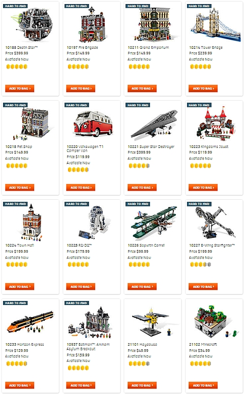 Shop LEGO Double VIP Point Offer