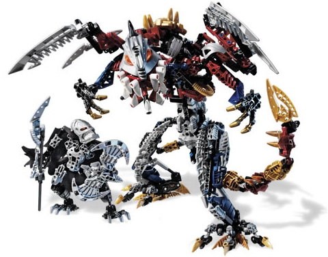 #10204 LEGO Bionicle Set