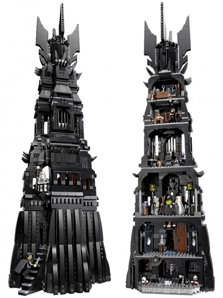 #10237 LEGO Lord of the Rings Tower of Orthanc