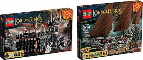 2013 LEGO Lord of the Rings Sets