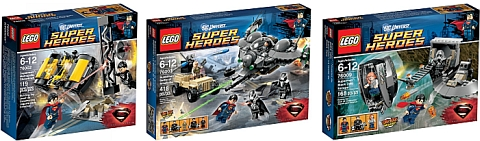 2013 LEGO Superman Sets