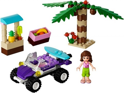 #41010 LEGO Friends Olivia's Beach Buggy