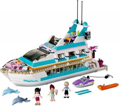 #41015 LEGO Friends Cruise Ship