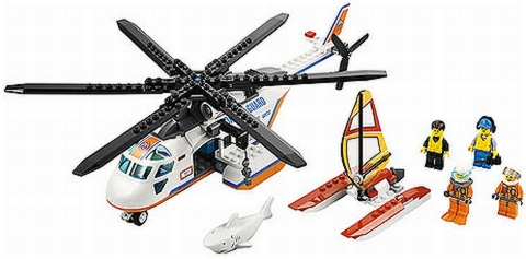 #60013 LEGO City Coast Guard Helicopter Details